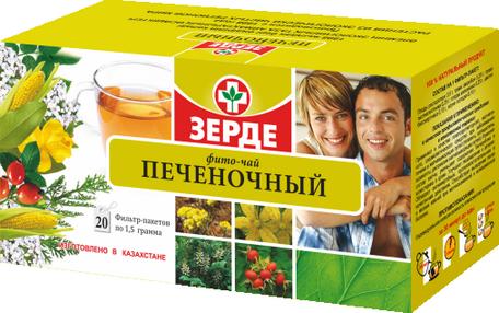 Печеночный фито-чай